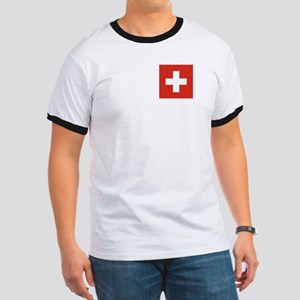 Flag of Switzerland Ringer T
