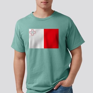 Flag of Malta Mens Comfort Colors Shirt