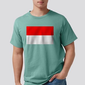 Flag of Monaco Mens Comfort Colors Shirt