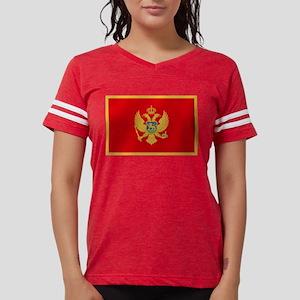 Flag of Montenegro Womens Football Shirt