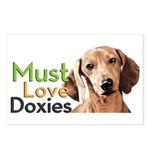 Must Love Doxies Postcards (Package of 8)