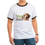 Must Love Doxies Ringer T