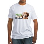 Must Love Doxies Fitted T-Shirt