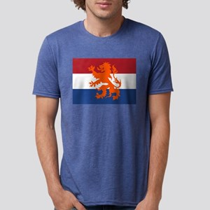 Holland Lion Mens Tri-blend T-Shirt