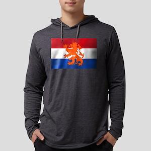 Holland Lion Mens Hooded Shirt