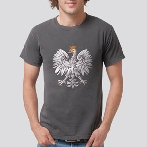 White Eagle of Poland Mens Comfort Colors Shirt