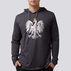 White Eagle of Poland Mens Hooded Shirt