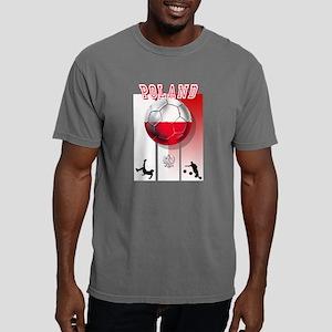 Poland Football Soccer Mens Comfort Colors Shirt