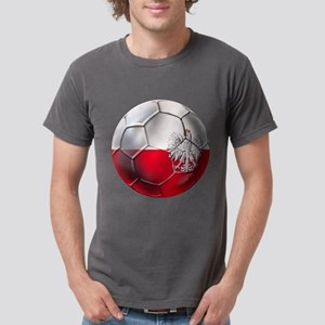 Poland Football Mens Comfort Colors Shirt