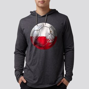 Poland Football Mens Hooded Shirt