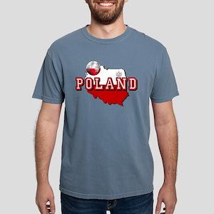 Polish Flag Map Mens Comfort Colors® Shirt