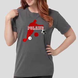 Polish Soccer Player Womens Comfort Colors Shirt