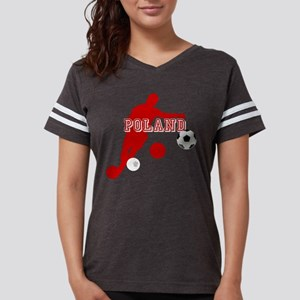 Polish Soccer Player Womens Football Shirt