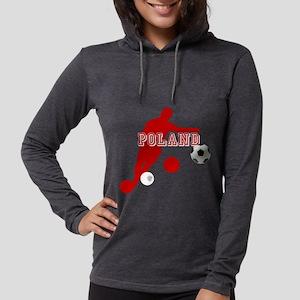 Polish Soccer Player Womens Hooded Shirt