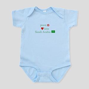 Peace Love & Saudi Arabia Infant Bodysuit