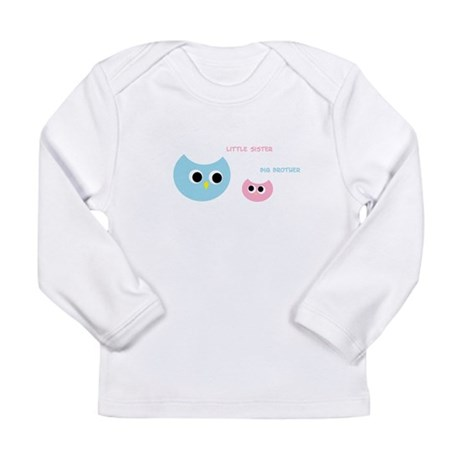 Big brother little sister Long Sleeve Infant T-Shi