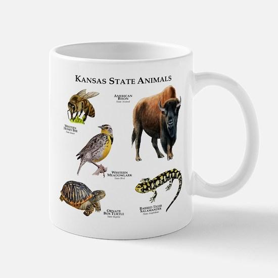 Kansas State Animals Mug