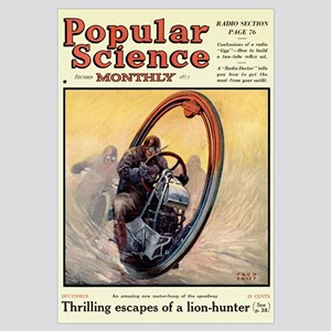 Popular Science Cover, December 1924