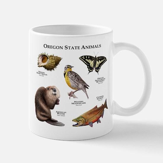 Oregon State Animals Mug