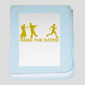 Raise the Gates Runner 5 baby blanket