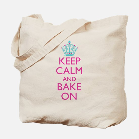 Keep Calm and Bake On Tote Bag