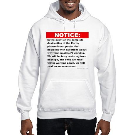 Email Hooded Sweatshirt