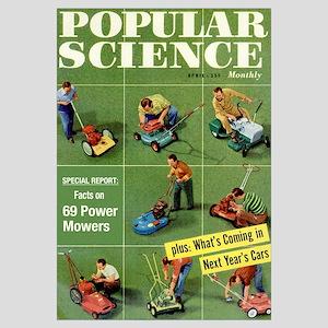 Popular Science Cover, April 1957