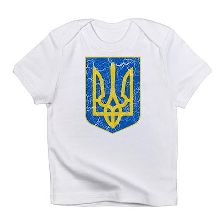 Ukraine Lesser Coat Of Arms Infant T-Shirt