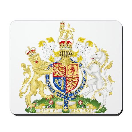 United Kingdom Coat Of Arms Mousepad