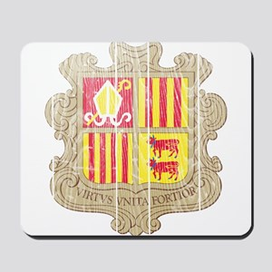 Andorra Coat Of Arms Mousepad