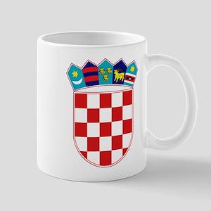 Croatia Hrvatska Emblem Mug