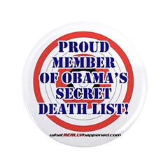 """Death List 3.5"""" Button"""
