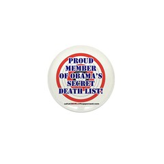 Death List Mini Button (10 pack)