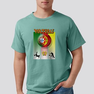 Portugal Football Soccer Mens Comfort Colors Shirt