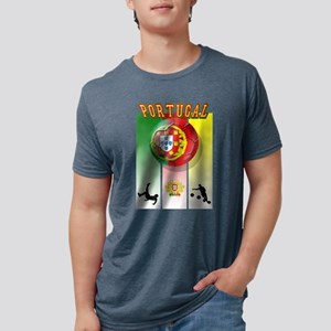 Portugal Football Soccer Mens Tri-blend T-Shirt