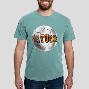 Portugal Football Mens Comfort Colors Shirt