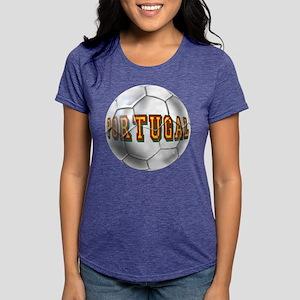 Portugal Football Womens Tri-blend T-Shirt