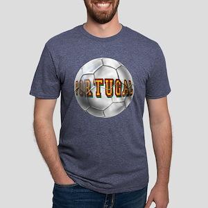 Portugal Football Mens Tri-blend T-Shirt