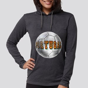Portugal Football Womens Hooded Shirt