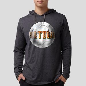 Portugal Football Mens Hooded Shirt