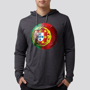 Portuguese Football Soccer Mens Hooded Shirt