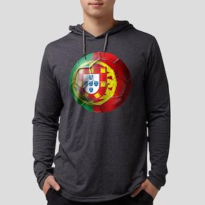 Portuguese Football Soccer Mens Hooded Shirt