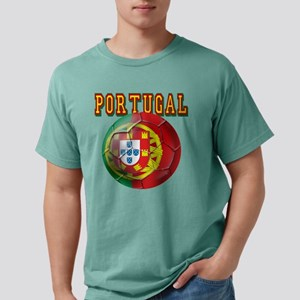 Portugal Soccer Futebol Mens Comfort Colors Shirt