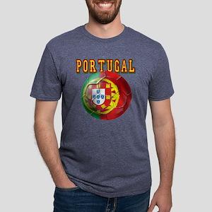 Portugal Soccer Futebol Mens Tri-blend T-Shirt
