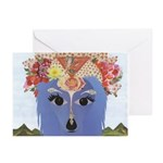 Longhaired Dachshund God Greeting Cards (Pk of 10)