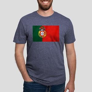 Portugal Football Flag Mens Tri-blend T-Shirt