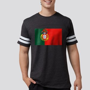 Portugal Football Flag Mens Football Shirt