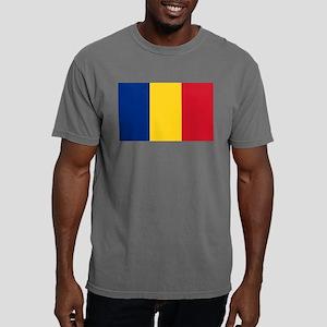 Romanian Flag Mens Comfort Colors Shirt