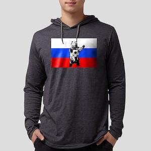 Russian Football Flag Mens Hooded Shirt