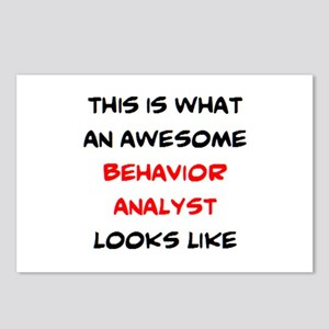 awesome behavior analyst Postcards (Package of 8)